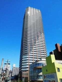 阿波座ライズタワーズ フラッグ46 (OMPタワー)の外観