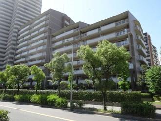 桜宮リバーシティ・NAC2号棟の外観