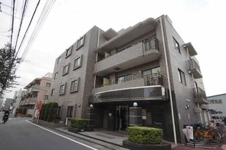 パルミナード多摩川 弐番館の外観