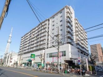 ライオンズマンション錦糸町第2の外観
