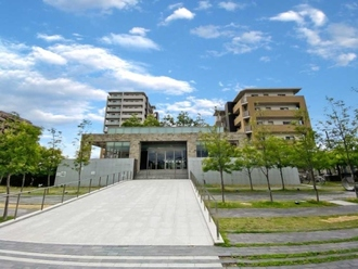 上野芝レジデンスコンフォートコートの外観