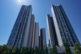 ワールドシティタワーズ アクアタワーの外観