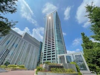 パークコート渋谷ザ・タワーの外観