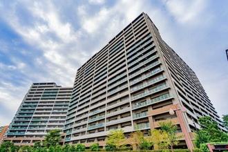 東京フロンティアシティアーバンフォート ウエストブロックの外観