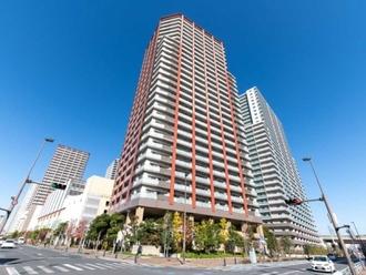 プラウドタワー武蔵浦和ガーデンの外観
