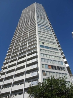 アップルタワー東京キャナルコートの外観