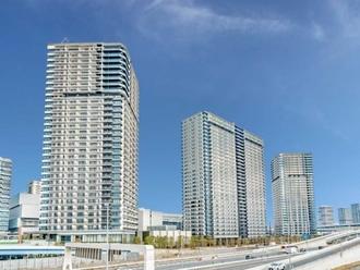 シティタワーズ東京ベイウエストタワーの外観