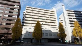 関口町住宅の外観
