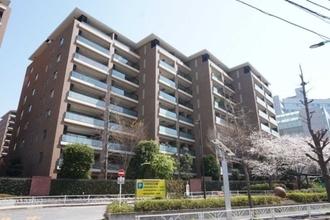 広尾ガーデンフォレスト 桜レジデンスB棟の外観