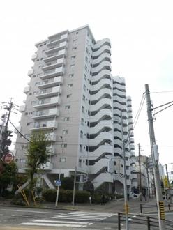 三井東別院ハイツの外観