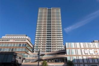 プラウドタワー名古屋栄の外観