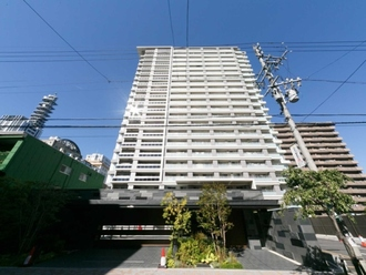 プラウドタワー名古屋久屋大通公園の外観