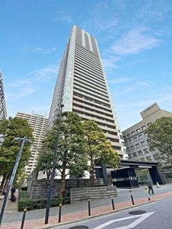 赤坂タワーレジデンストップオブザヒルの外観