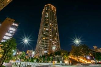 富久クロスコンフォートタワーの外観
