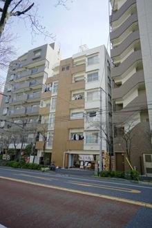 シティーマンション新宿の外観