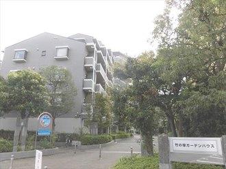 竹の塚ガーデンハウスの外観