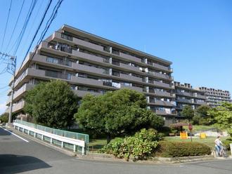 ヒルズ横浜ガーデンホームズの外観