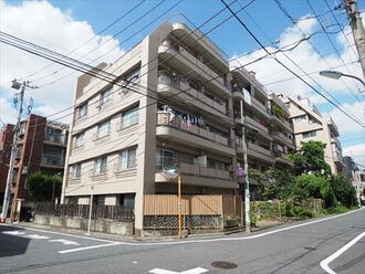 三田桜台第二コーポの外観