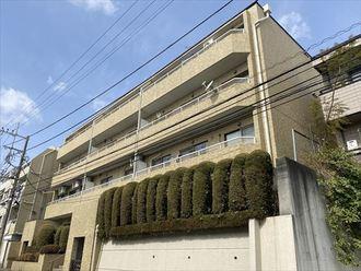 宮崎台南スカイマンションの外観