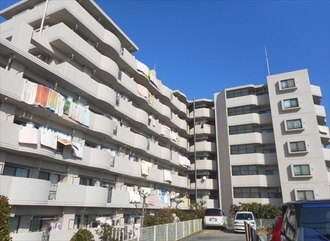 シャルマンコーポ松戸六高台の外観