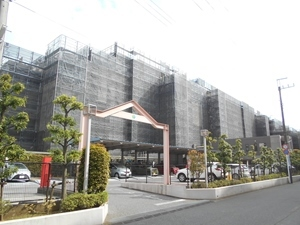 ハートフルシティ松戸六高台スクエア弐の外観