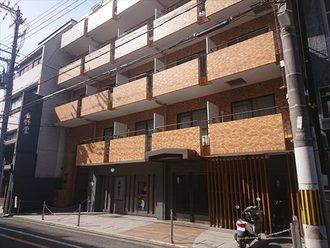 ライオンズマンション京都三条第3の外観