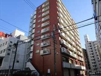 新栄シティハイツの外観