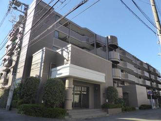 コスモ新川崎の外観
