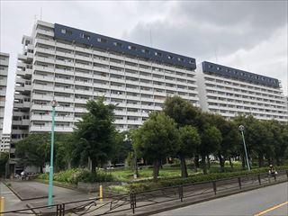 川崎河原町分譲共同ビルの外観