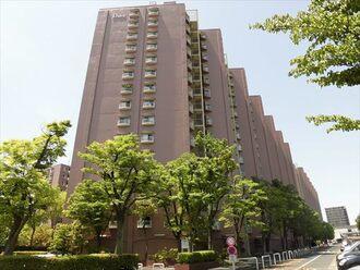 矢田川パークハウスの外観