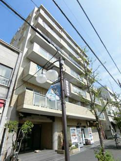 川崎ロイヤルマンションの外観