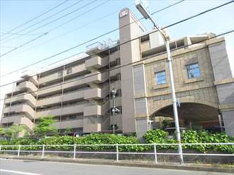 ライオンズマンション大江川緑地の外観