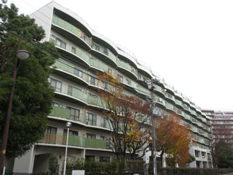 千里王子高層住宅の外観