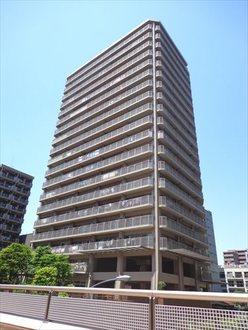 ヴィルクレール川崎タワーの外観