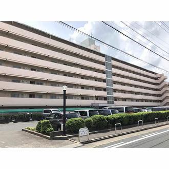 岩塚町スカイマンションの外観