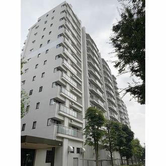 パークシティ新川崎 西二番街 B棟の外観