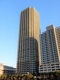 晴海アイランドトリトンスクエアビュータワーの外観