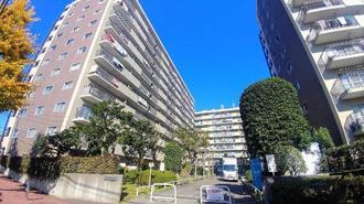多摩稲城マンションの外観