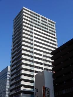 ロイヤルタワー大阪谷町の外観