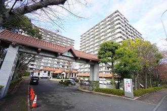 中銀ライフケア横浜・港北の外観