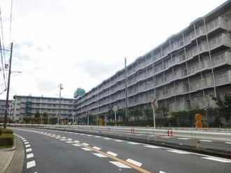 帝塚山グリーンハイツB棟の外観