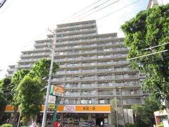 コープ野村クローバー・シティ与野弐番館の外観