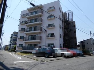 中川マンションB棟の外観