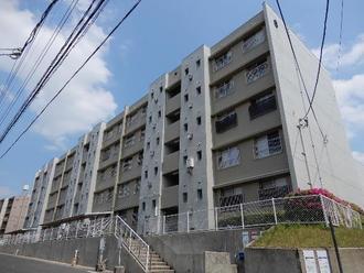 桃山住宅六号棟の外観