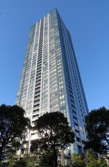 シティタワーズ豊洲ザ・ツイン サウスタワーの外観