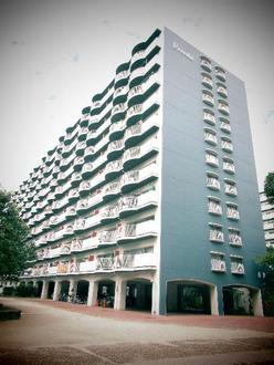 淀川パークハウスF棟(6号棟)の外観