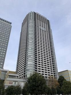 ブリリアタワー東京の外観