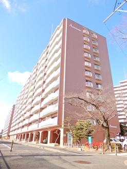 矢田川パークハウスA棟の外観