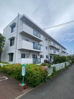 浜田山リッツハウスB棟の外観