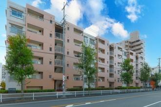 上飯田ハイツ3棟の外観